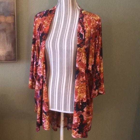 LuLaRoe Jackets & Blazers - LuLaRoe Wrap / Cover up, fits like Large or XL